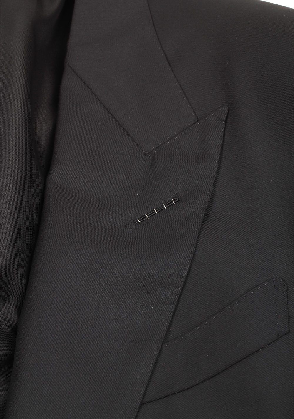 TOM FORD Windsor Black Checked Sport Coat Size 50 / 40R U.S. Fit A | Costume Limité