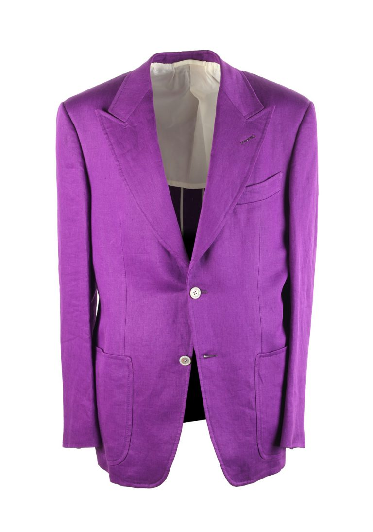 TOM FORD Spencer Purple Sport Coat Size 50 / 40R U.S. - thumbnail | Costume Limité