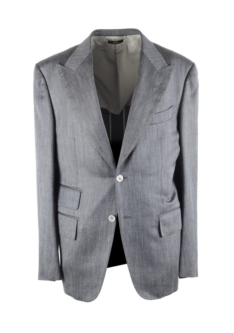 TOM FORD Spencer Gray Sport Coat Size 50 / 40R U.S. - thumbnail | Costume Limité
