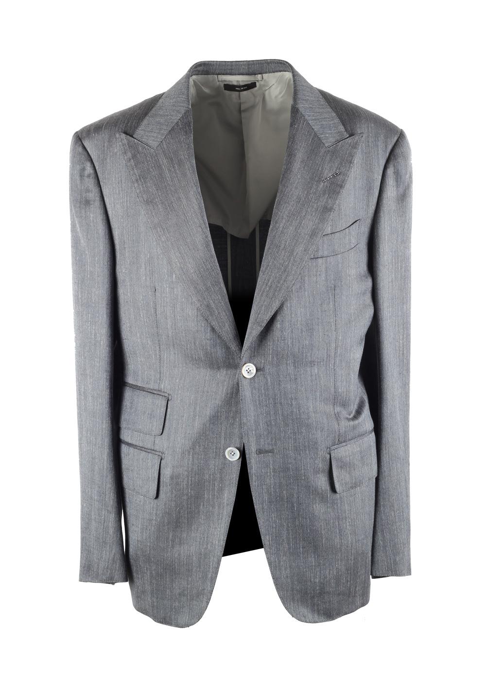 TOM FORD Spencer Gray Sport Coat Size 50 / 40R U.S. | Costume Limité