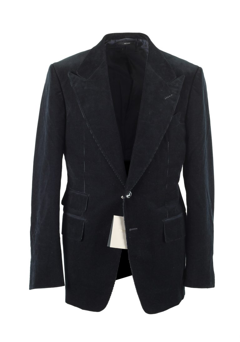 TOM FORD Shelton Greenish Blue Sport Coat Size 50 / 40R U.S. - thumbnail | Costume Limité