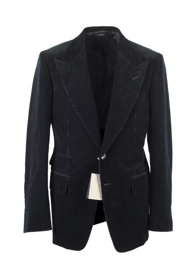 TOM FORD Shelton Greenish Blue Sport Coat Size 50 / 40R U.S. - thumbnail | Costume Limité