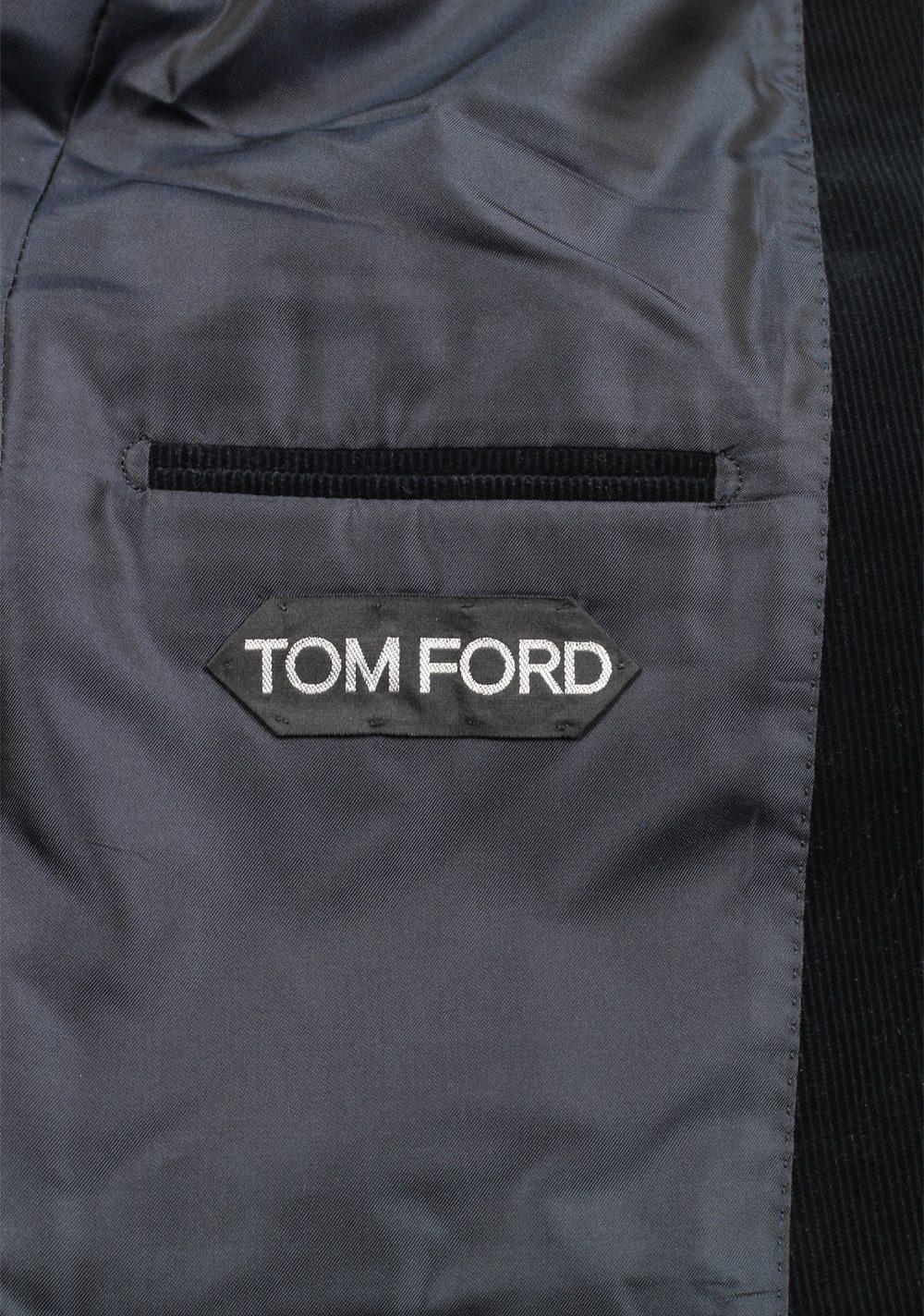 TOM FORD Shelton Greenish Blue Sport Coat Size 50 / 40R U.S. | Costume Limité