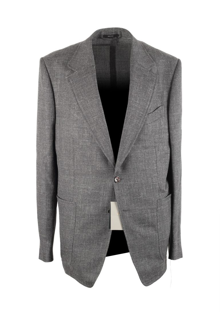 TOM FORD Shelton Gray Sport Coat Size 54 / 44R U.S. - thumbnail | Costume Limité