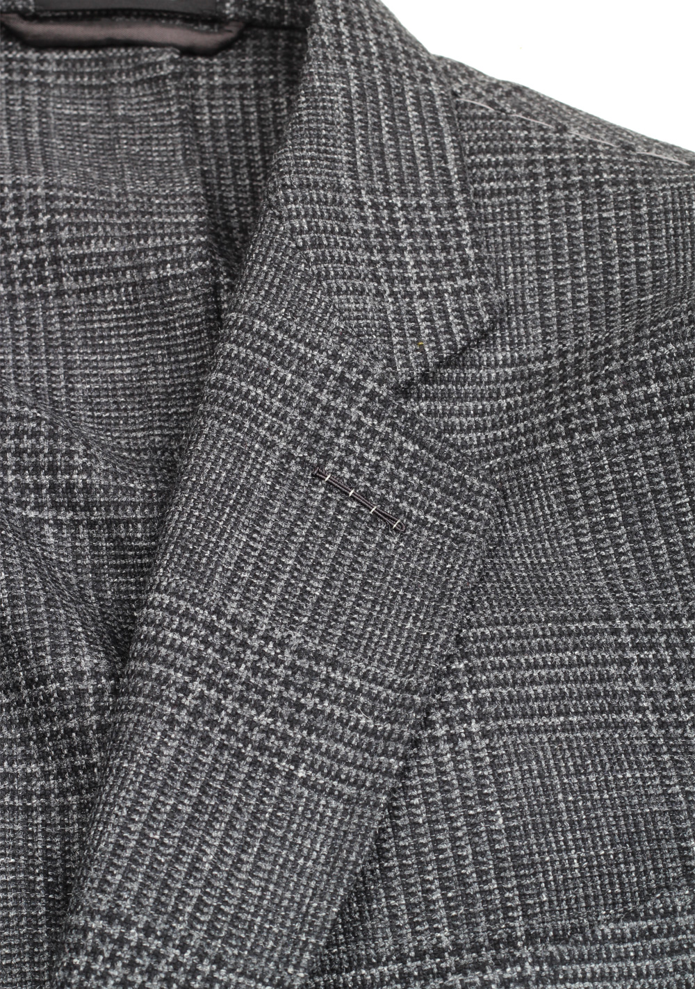 TOM FORD Shelton Checked Gray Sport Coat Size 54 / 44R U.S. | Costume Limité