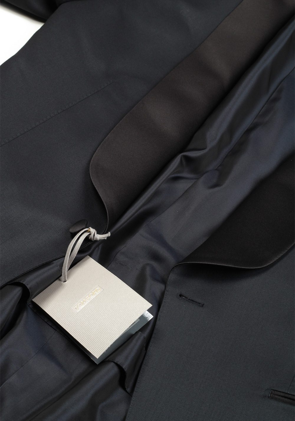 TOM FORD O'Connor Midnight Blue Tuxedo Smoking Suit Size 54 / 44R U.S. | Costume Limité