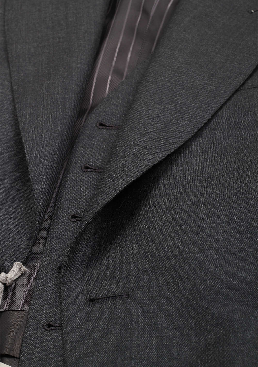TOM FORD Windsor Gray 3 Piece Suit Size 46 / 36R U.S. Wool Fit A | Costume Limité