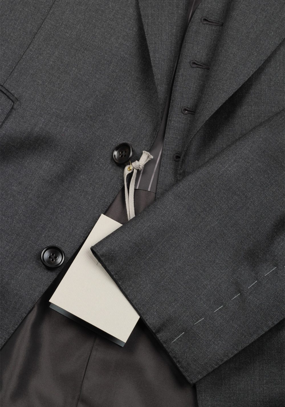 TOM FORD Windsor Gray 3 Piece Suit Size 48 / 38R U.S. Wool Fit A | Costume Limité