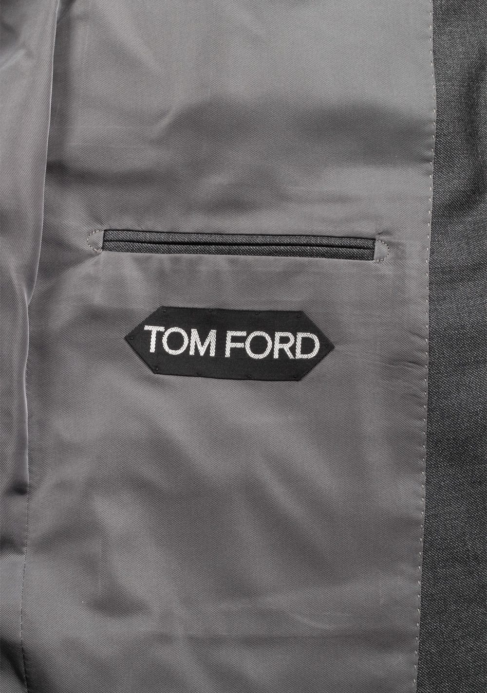 TOM FORD O'Connor Solid Gray Suit | Costume Limité