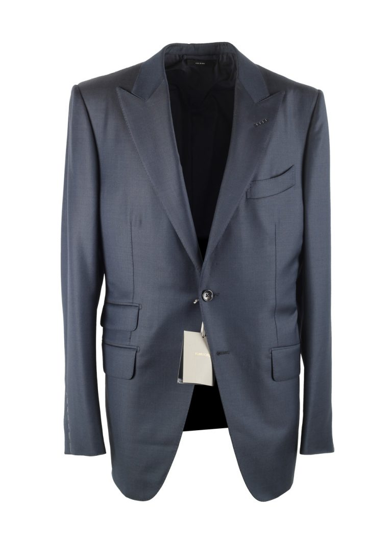 TOM FORD O'Connor Solid Blue Suit - thumbnail | Costume Limité
