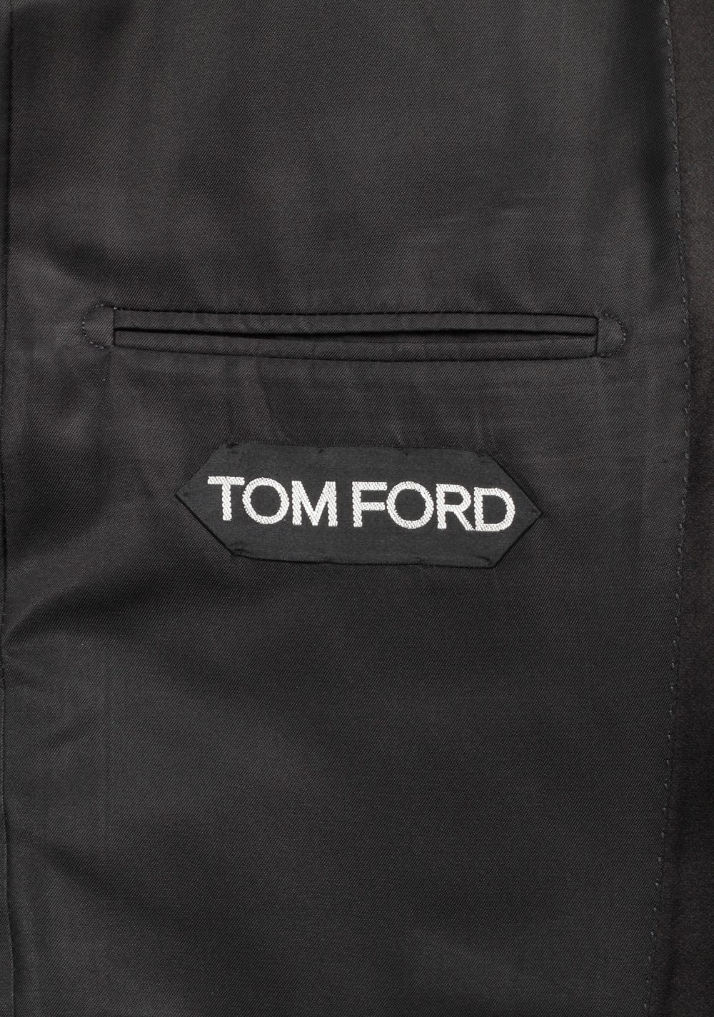 TOM FORD O'Connor Black Tuxedo Suit Size 50 / 40R U.S.  Fit Y | Costume Limité