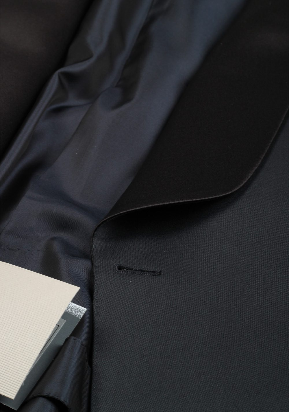 TOM FORD O'Connor Midnight Blue Tuxedo Suit Size 46 / 36R U.S. Shawl Collar Fit Y | Costume Limité