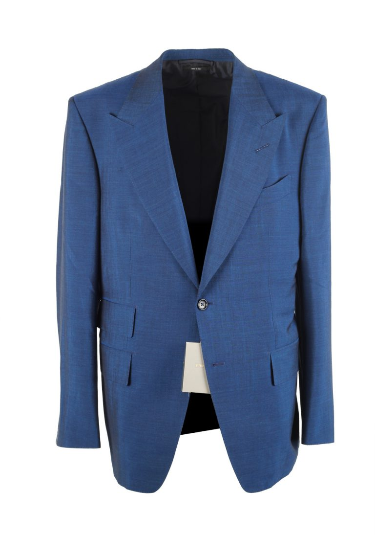 TOM FORD Windsor Solid Blue Suit - thumbnail | Costume Limité
