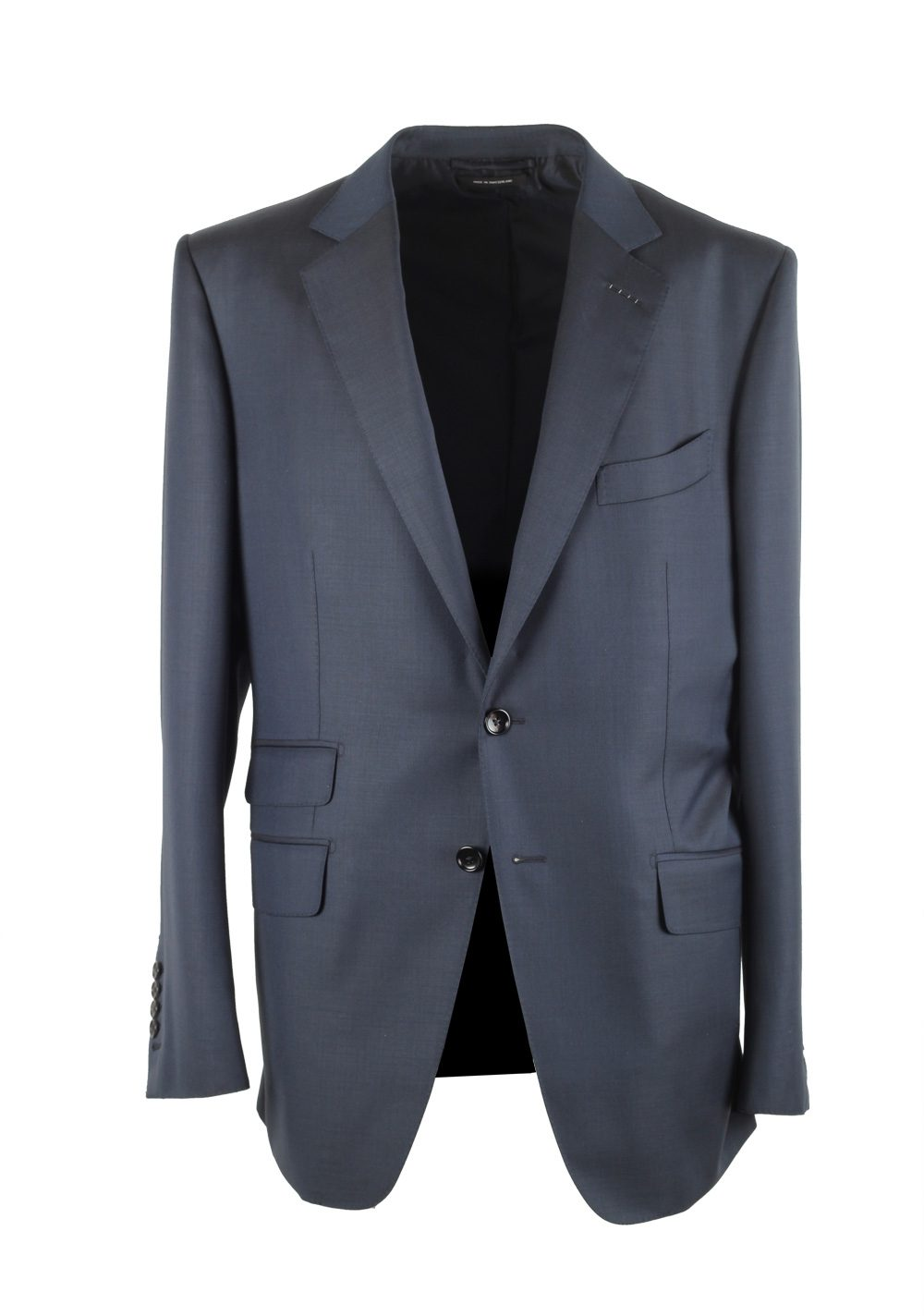 TOM FORD O'Connor Blue Suit Size 52 / 42R U.S. Wool Fit Y | Costume Limité