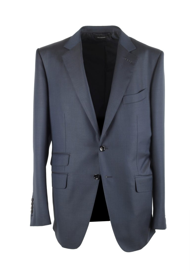 TOM FORD O'Connor Blue Suit Size 52 / 42R U.S. Wool Fit Y - thumbnail | Costume Limité