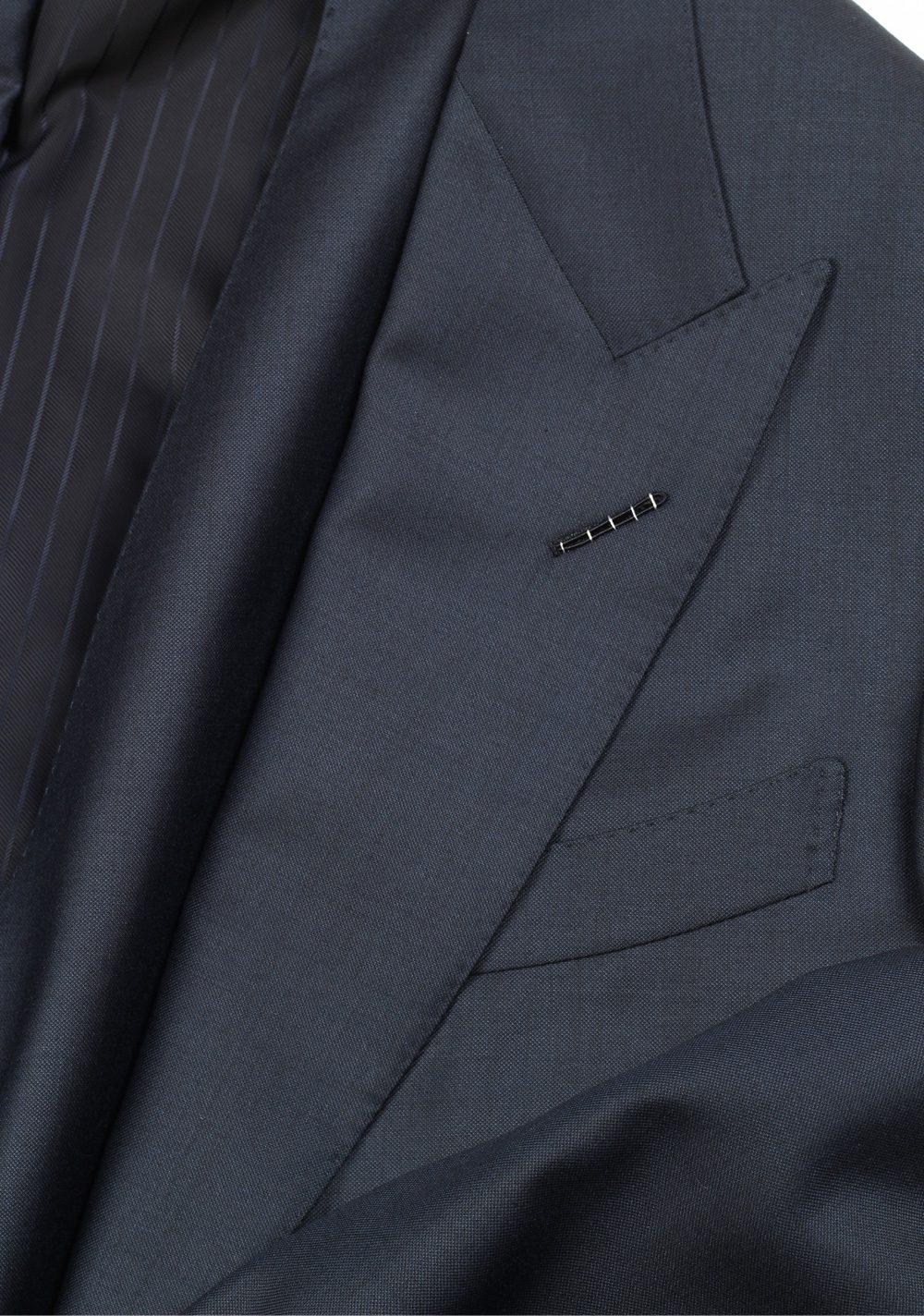 TOM FORD Windsor Blue 3 Piece Suit Size 50 / 40R U.S. Wool Fit A | Costume Limité