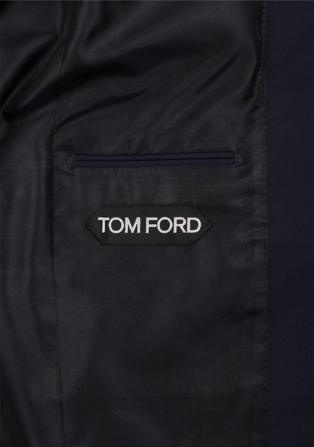 TOM FORD Windsor Signature Solid Blue 3 Piece Suit | Costume Limité