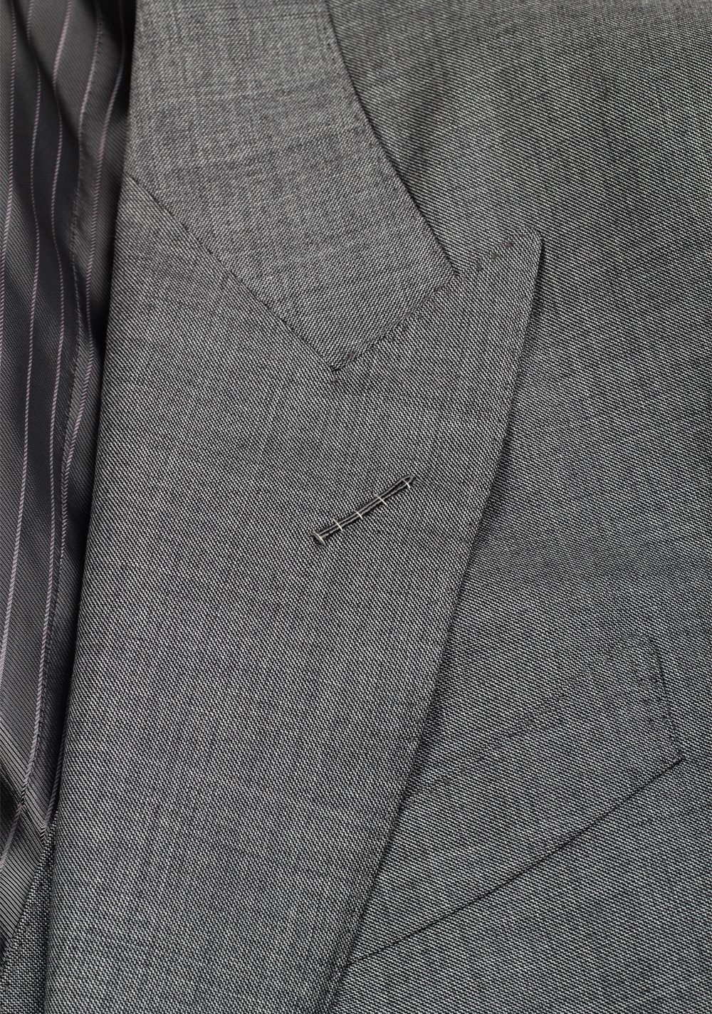 TOM FORD Windsor Signature Solid Gray 3 Piece Suit | Costume Limité