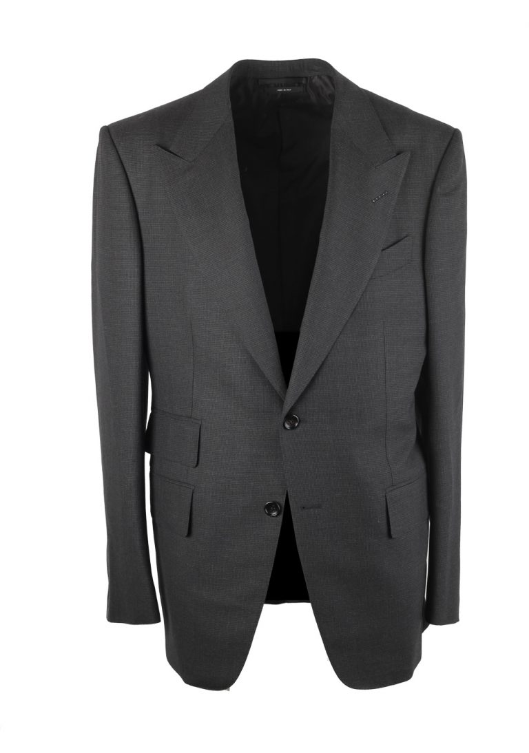TOM FORD Windsor Gray Checked Suit - thumbnail | Costume Limité