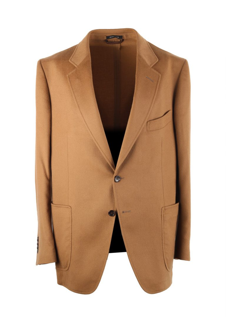 TOM FORD O'Connor Camel Sport Coat Size 52 / 42R in Cashmere - thumbnail | Costume Limité