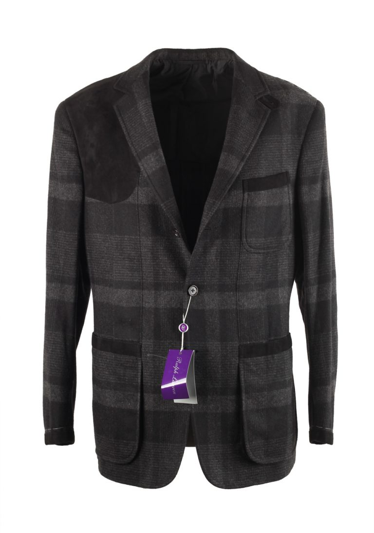 Ralph Lauren Purple Label Hunting Gray Black Sport Coat Size 50 / 40R U.S. - thumbnail | Costume Limité