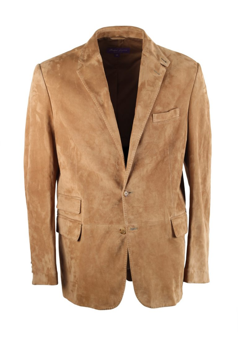 Ralph Lauren Purple Label Beige Suede Sport Coat - thumbnail | Costume Limité