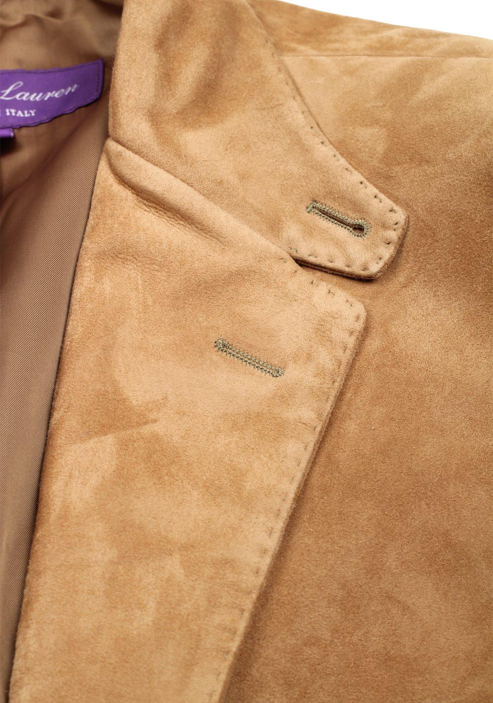 Ralph Lauren Purple Label Beige Suede Sport Coat | Costume Limité