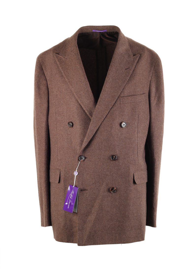 Ralph Lauren Purple Label Double Breasted Suit In Cashmere - thumbnail | Costume Limité