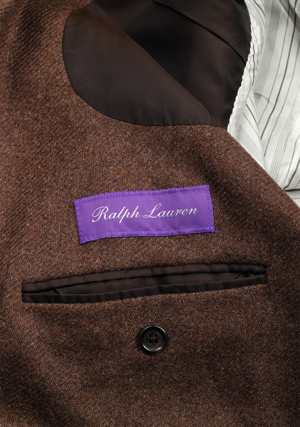 Ralph Lauren Purple Label Double Breasted Suit In Cashmere | Costume Limité