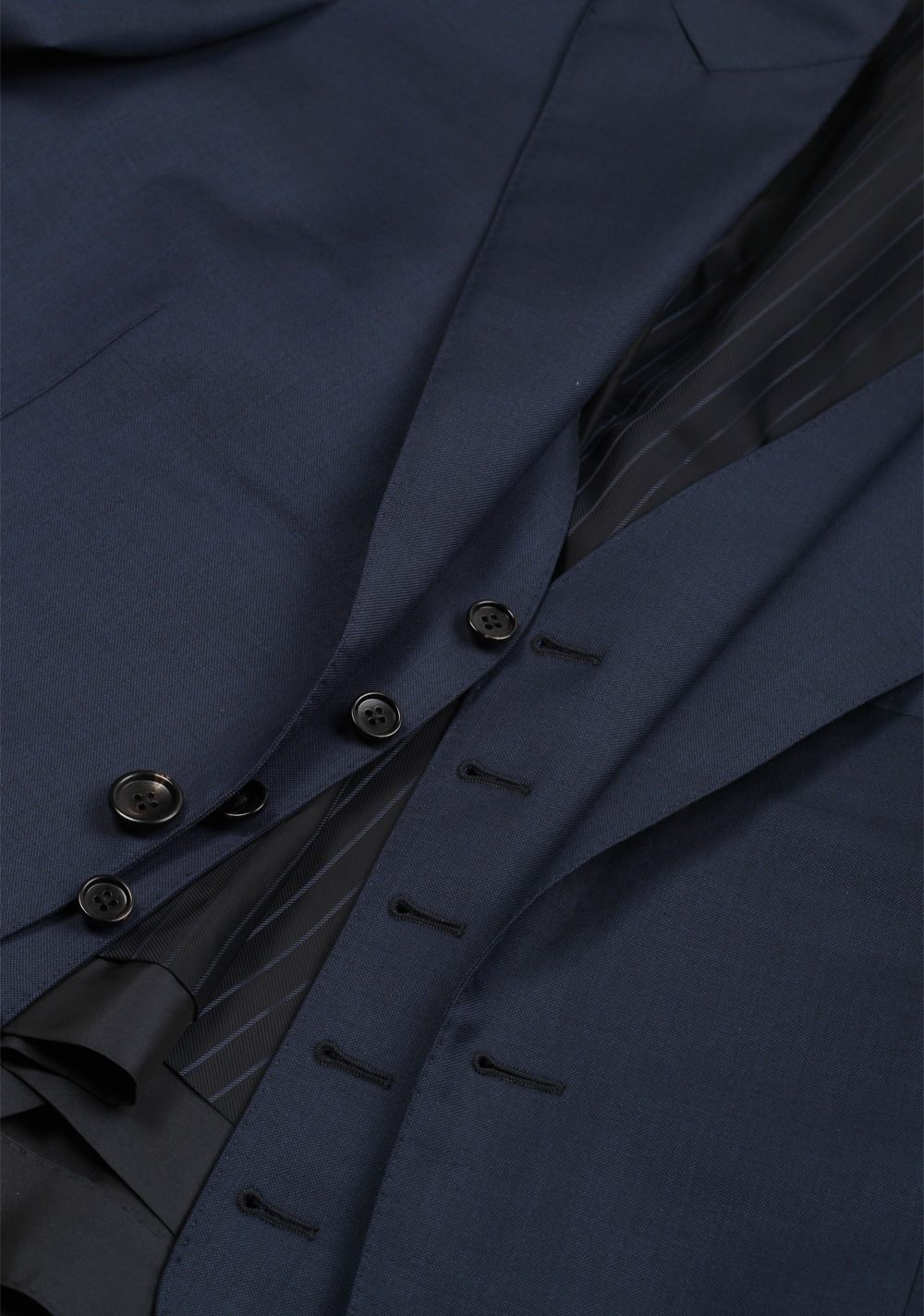 TOM FORD O'Connor Solid Blue 3 Piece Suit Fit Y | Costume Limité