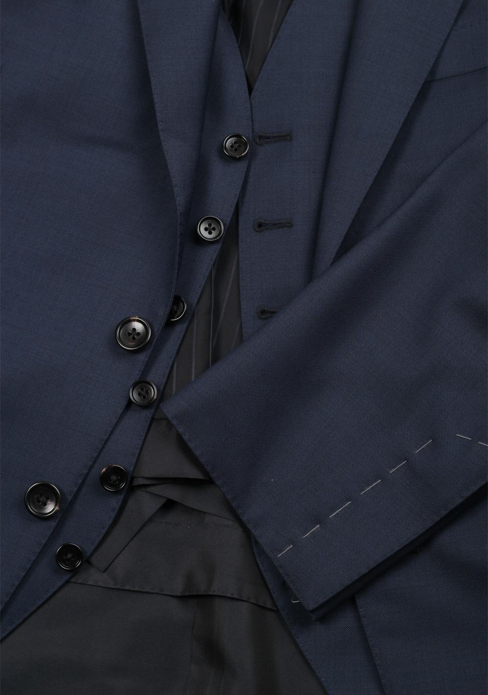 TOM FORD O'Connor Solid Blue 3 Piece Suit Fit Y   Costume Limité