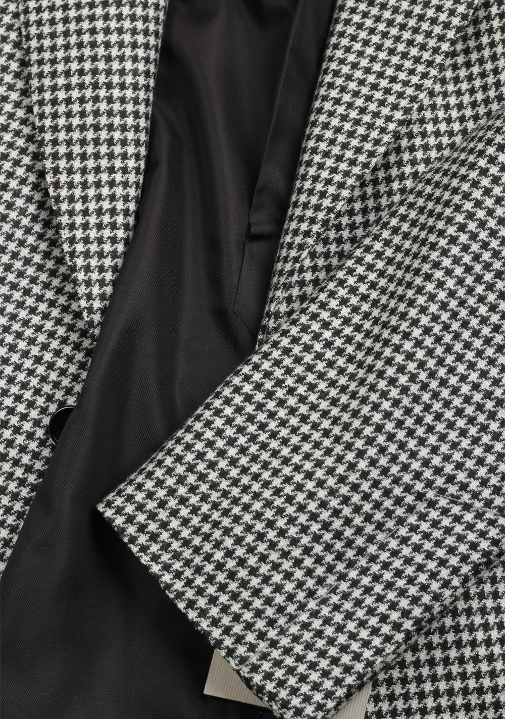 TOM FORD Shelton Houndstooth Black White Suit Size 54 / 44R U.S. | Costume Limité