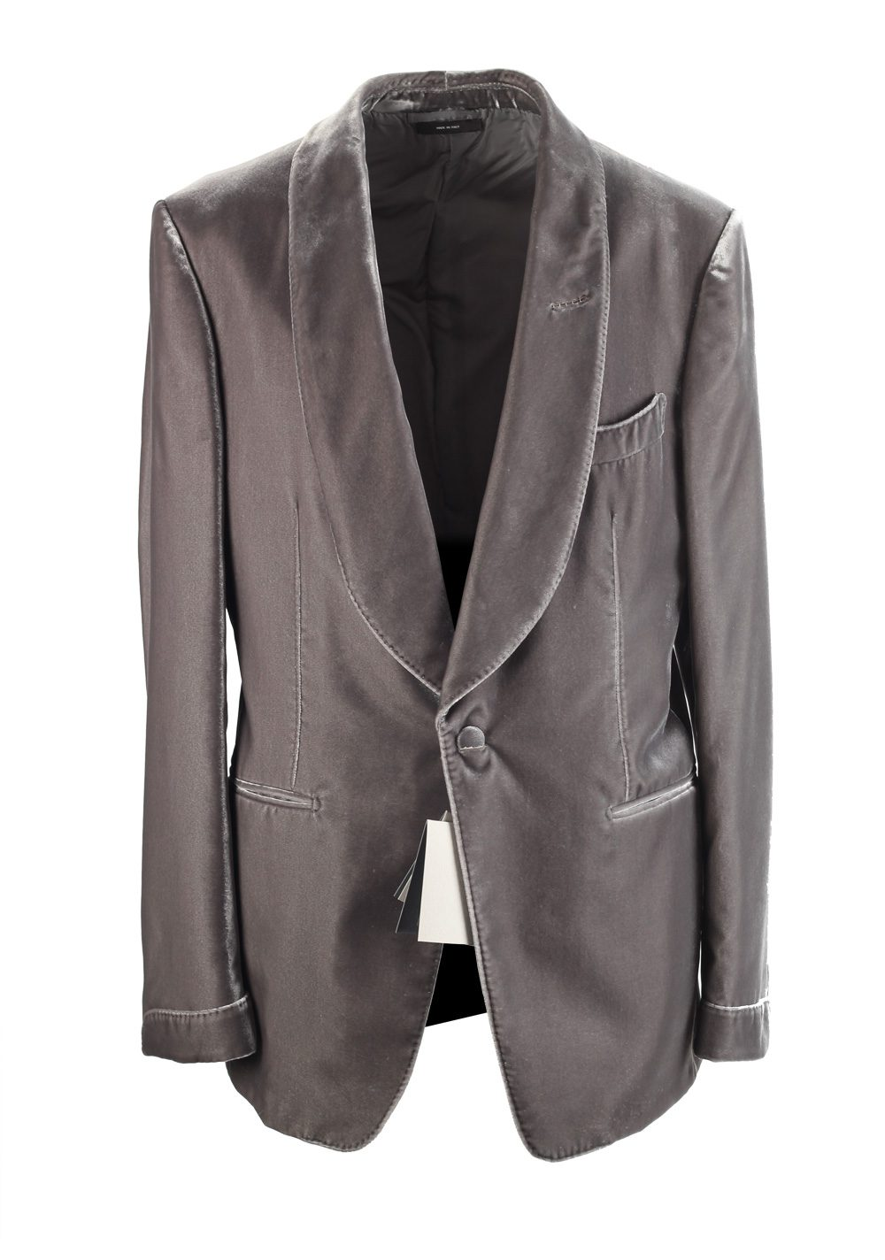 TOM FORD Shelton Shawl Collar Velvet Tuxedo Dinner Jacket | Costume Limité