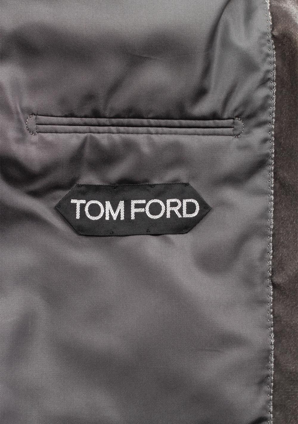 TOM FORD Shelton Shawl Collar Velvet Tuxedo Dinner Jacket | Costume Limité