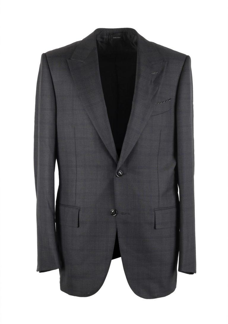 Ermenegildo Zegna Premium Couture Gray Checked Suit - thumbnail | Costume Limité