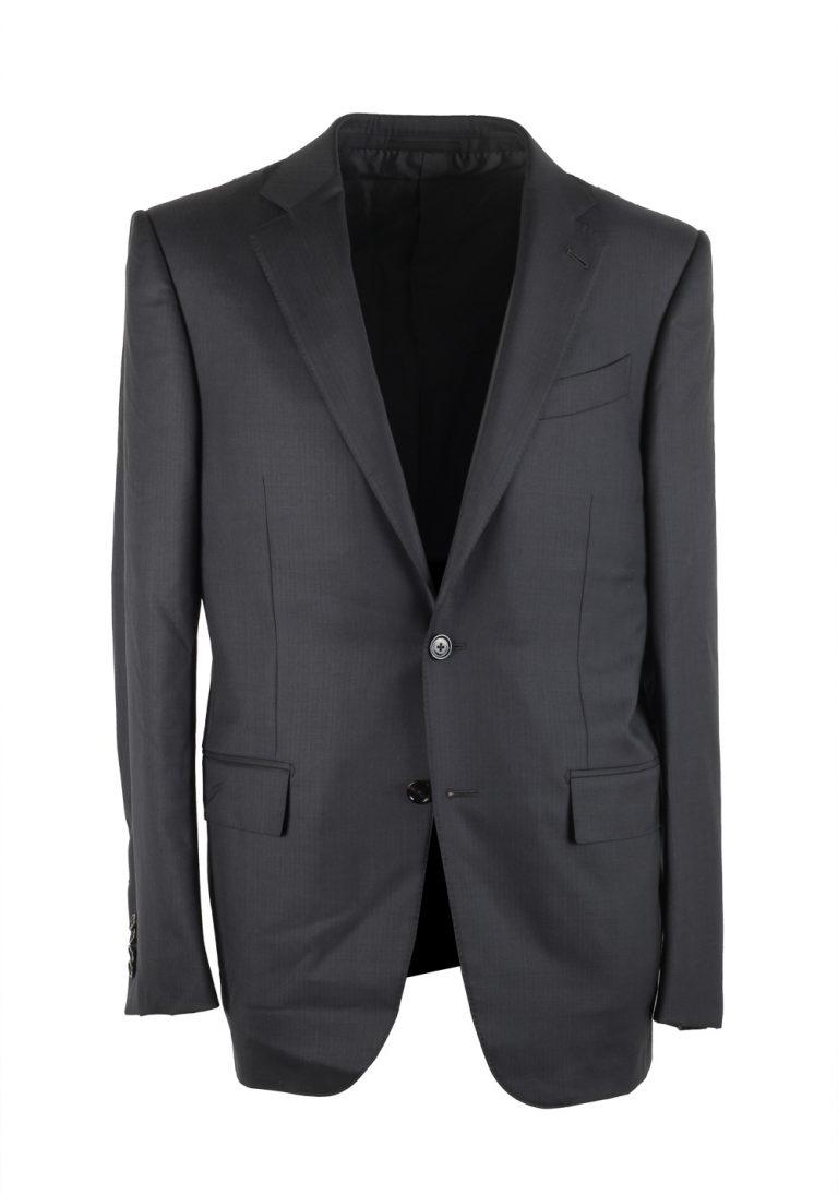 Ermenegildo Zegna Mila Gray 15 Milmil 15 Striped Suit Size 48 / 38R U.S. - thumbnail | Costume Limité
