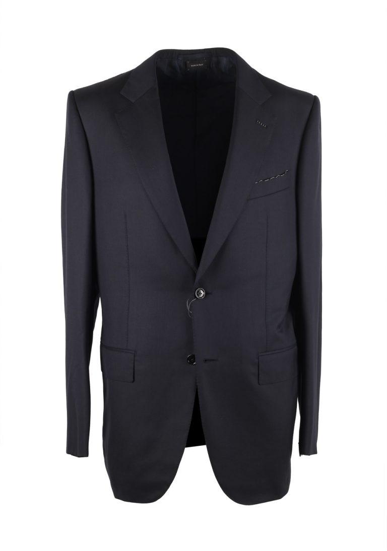 Ermenegildo Zegna Premium Couture Blue Suit Size 52L / 42L U.S. - thumbnail | Costume Limité