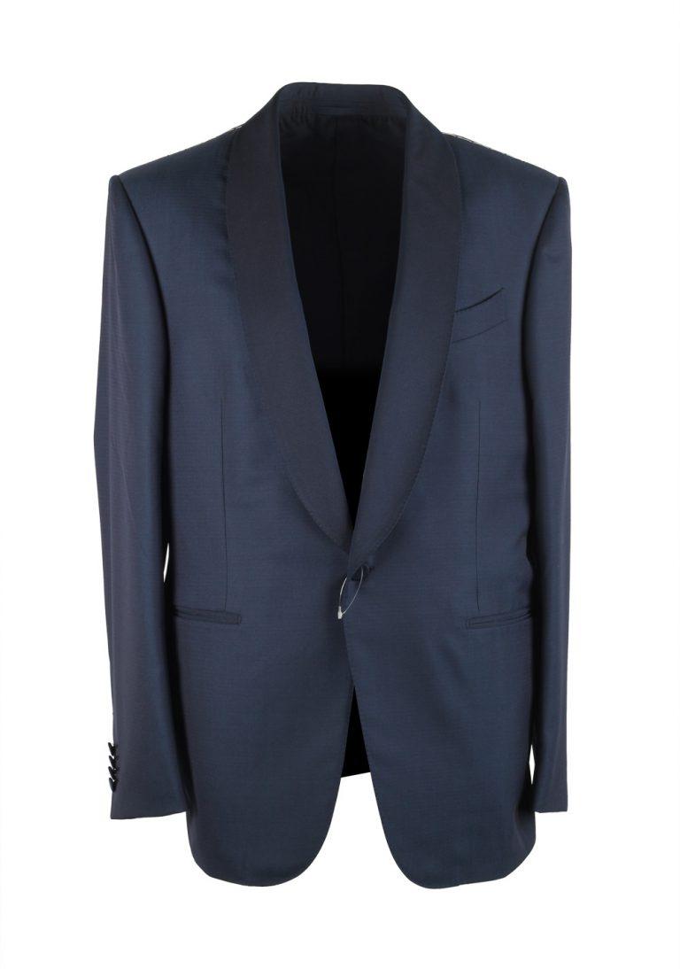 Ermenegildo Zegna Blue Mila Tuxedo Suit - thumbnail | Costume Limité