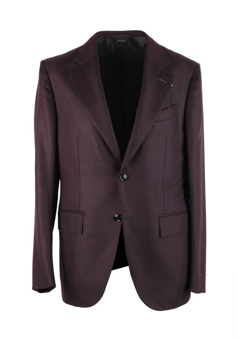 Ermenegildo Zegna Premium Couture Aubergine Sport Coat In Cashmere - thumbnail | Costume Limité