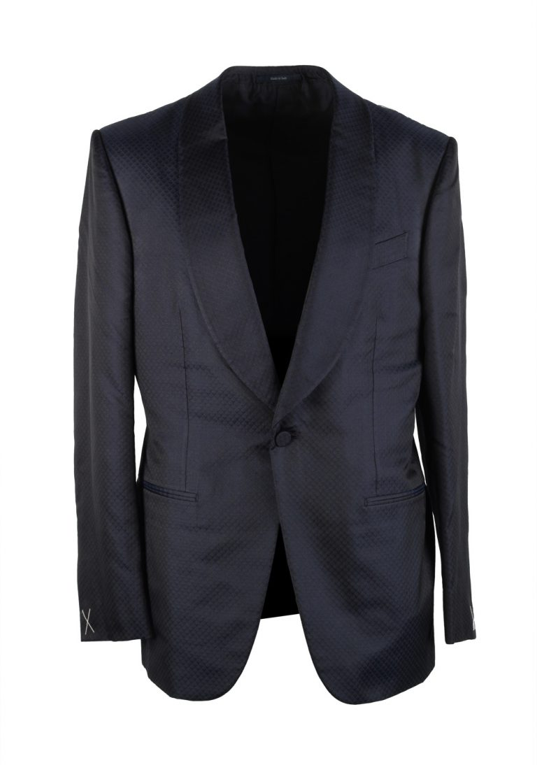Ermenegildo Zegna Venezia Blue Dinner Jacket Size 50 / 40R U.S. - thumbnail | Costume Limité