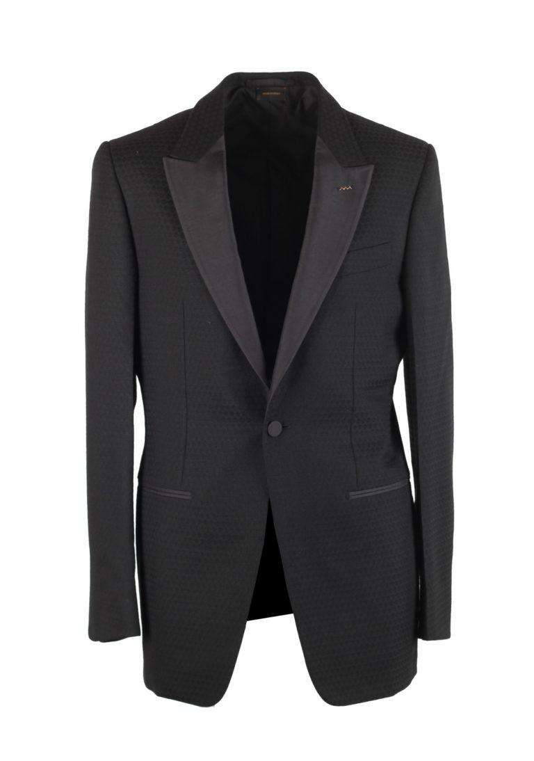 Ermenegildo Zegna Couture Black Sport Coat Size 48L / 38L U.S. - thumbnail | Costume Limité