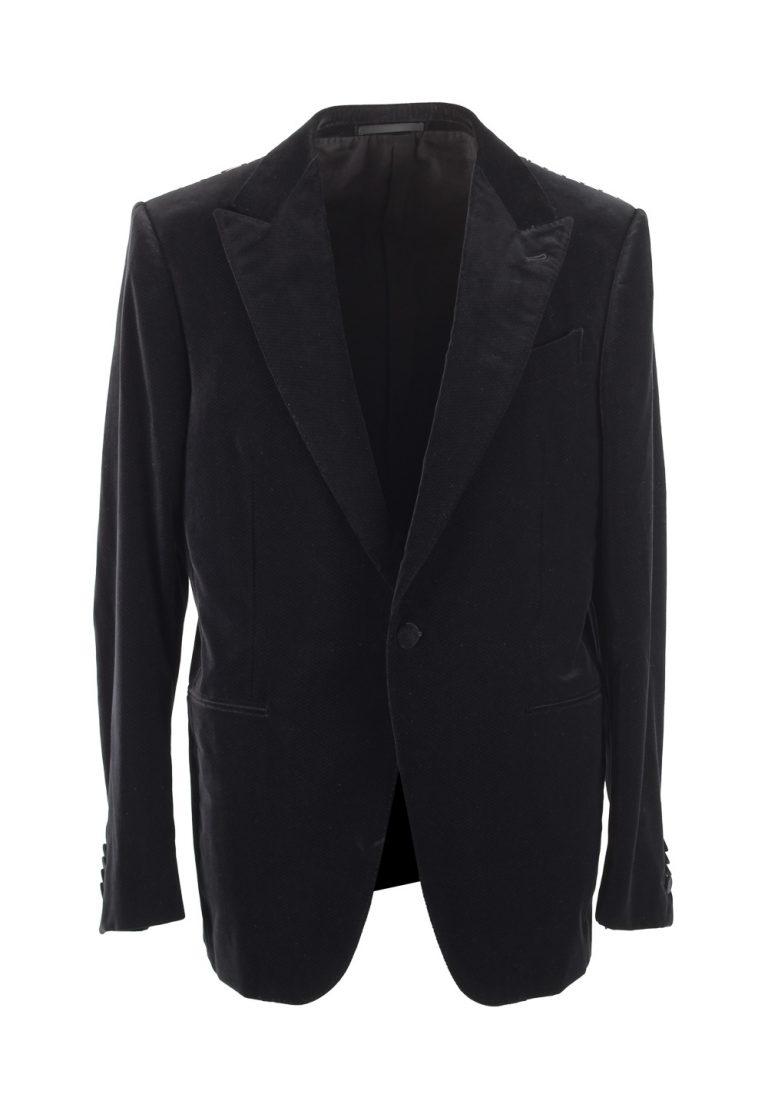 Ermenegildo Zegna Mila Black Dinner Jacket Size 52 / 42R U.S. - thumbnail | Costume Limité