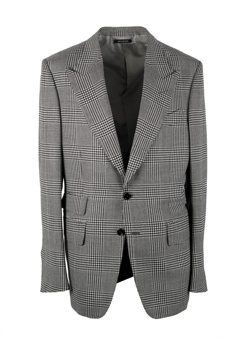TOM FORD Shelton Black White Checked Suit - thumbnail | Costume Limité