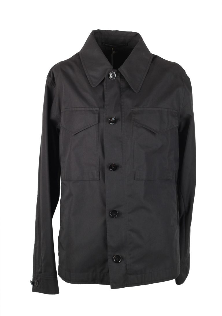 TOM FORD Black Field Jacket Coat Size 48 / 38R U.S. Outerwear - thumbnail | Costume Limité
