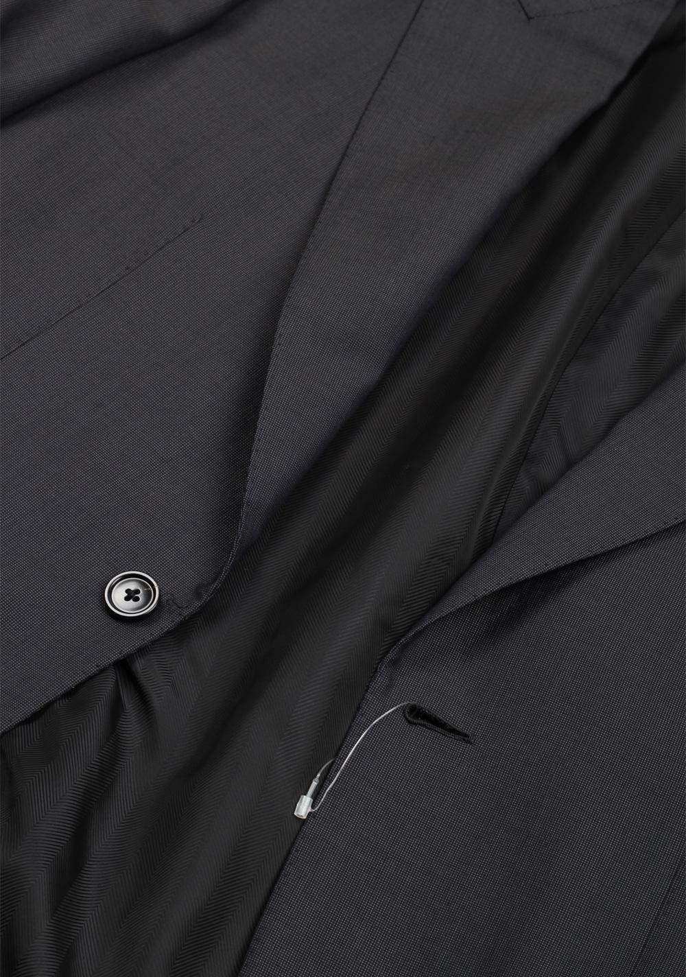 Ermenegildo Zegna Premium Couture Gray Suit Size 46 / 36R U.S.   Costume Limité