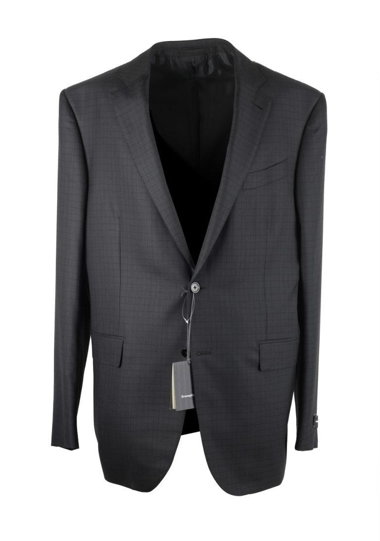 Ermenegildo Zegna Mila Gray 15 Milmil 15 Striped Suit Size 54L / 44L U.S. - thumbnail | Costume Limité