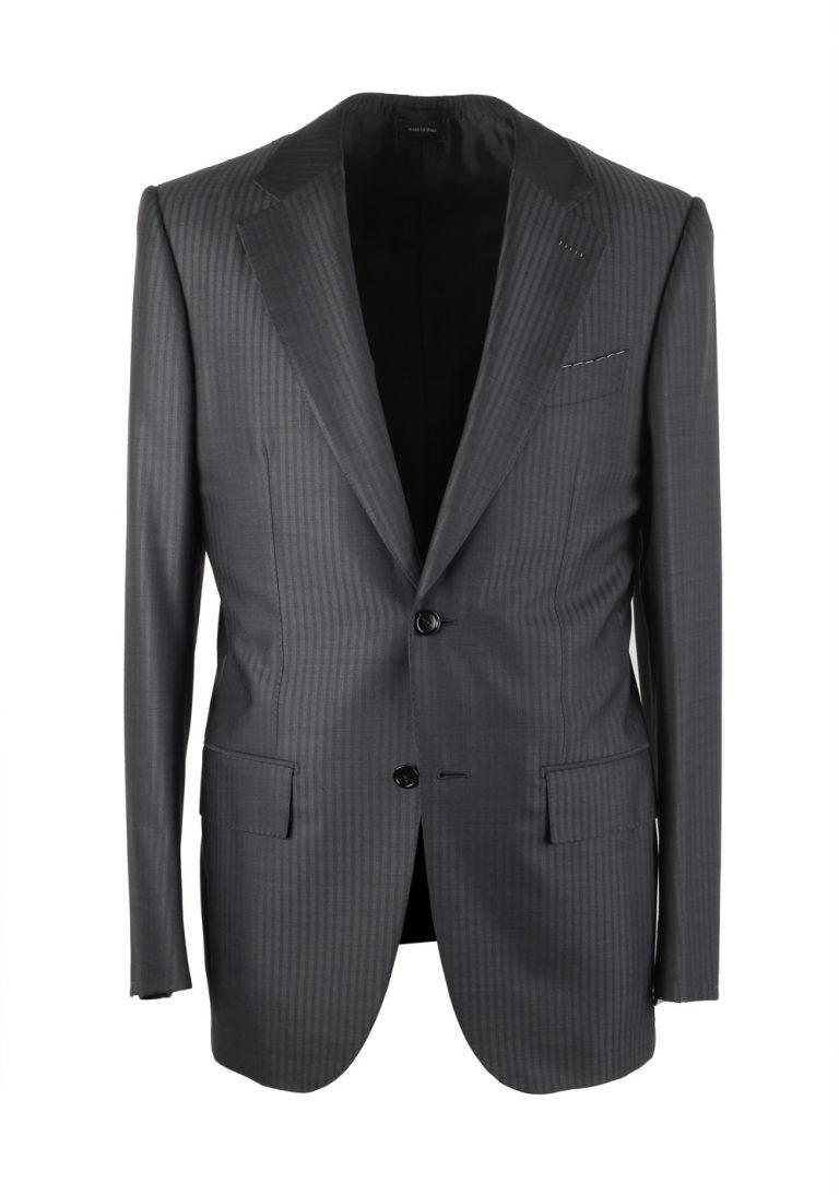 Ermenegildo Zegna Premium Couture Gray Suit Size 46 / 36R U.S. - thumbnail | Costume Limité