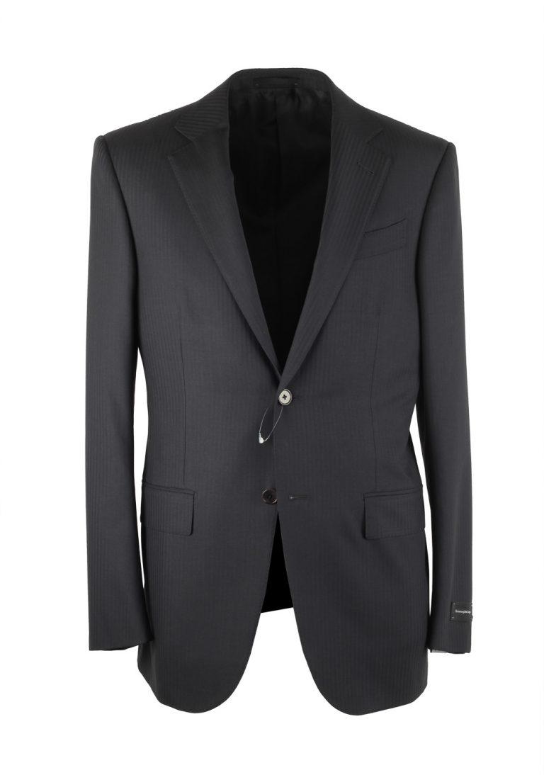 Ermenegildo Zegna Mila Gray Suit Size 46 / 36R U.S. - thumbnail | Costume Limité