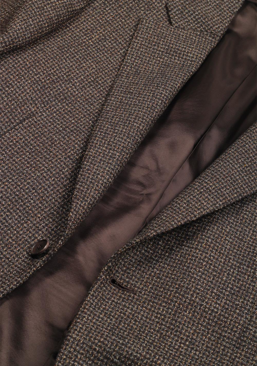 Ermenegildo Zegna Premium Couture Brown Sport Coat Size 50 / 40R U.S. | Costume Limité