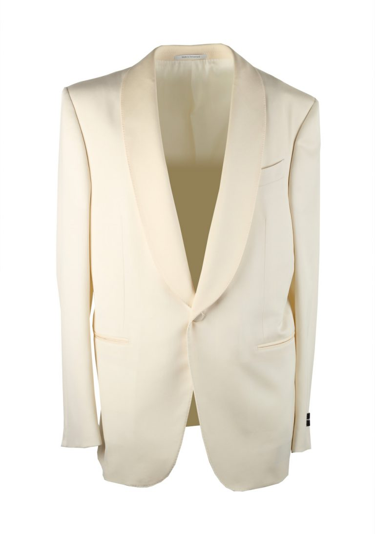 Ermenegildo Zegna Mila Ivory Tuxedo Dinner Jacket - thumbnail | Costume Limité